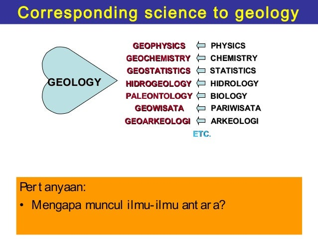 introduction to geology To provide students of other than mining engineering department with basic  knowledge of geology and the geology of papua new guinea on completion of  the.