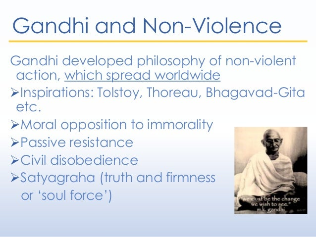 gandhis journey to nonviolence essay Nonviolence in mundane matters is to know its true value it is to bring heaven upon earth essay on non violence of mahatma gandhi important india, non violence of.