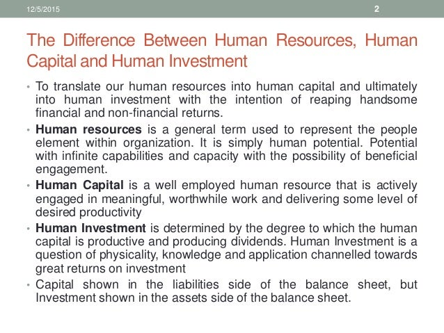 human capital and productivity Browse compensation, human capital management and productivity content selected by the human resources today community.