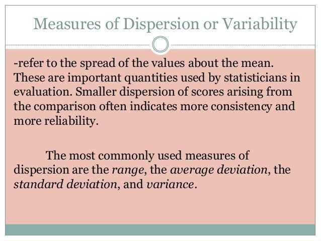 measures of variability I introduction and focus questions measures of central tendency and measures of variability 443 have you ever wondered why a certain size of shoe or brand of shirt.