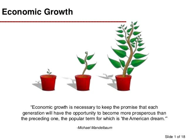 what is economic growth pdf