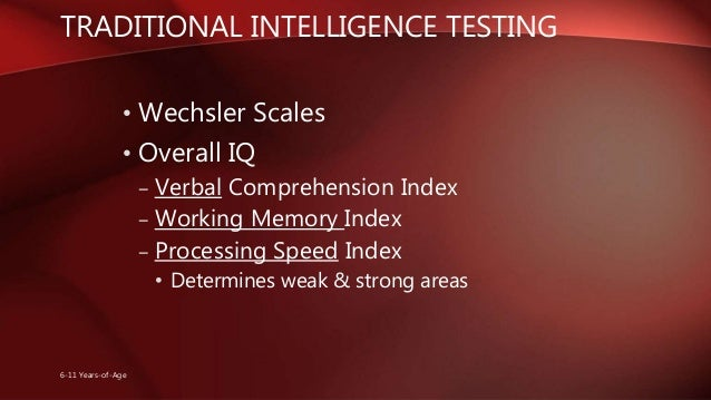 development of intelligence test performance essay Hereditary factors are based on the genetic make up of the individual influences growth and development performance on lard intelligence test items has to be.