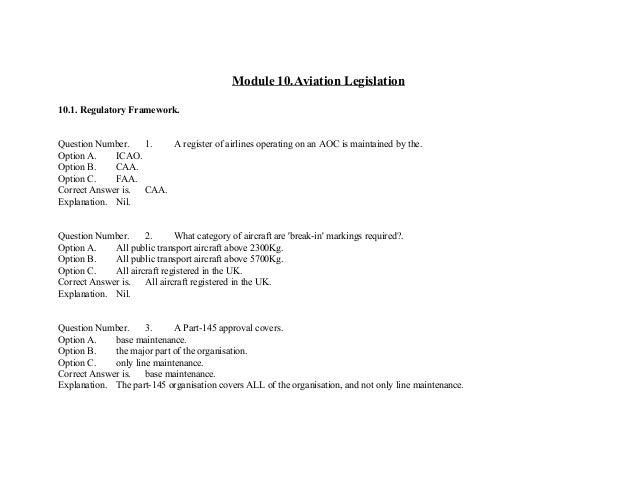 easa portion 66 module 10 essay