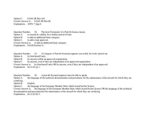 EASA Part-66 Module10 mcq's