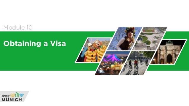 Module 10 Obtaining a Visa