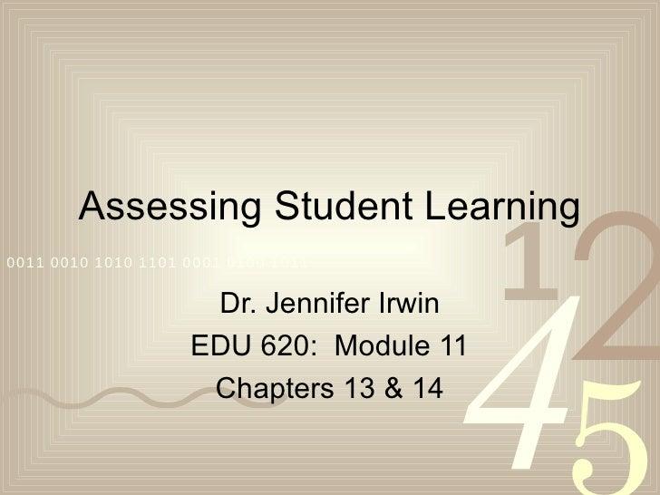 2        Assessing Student Learning                                          1                                      40011 ...