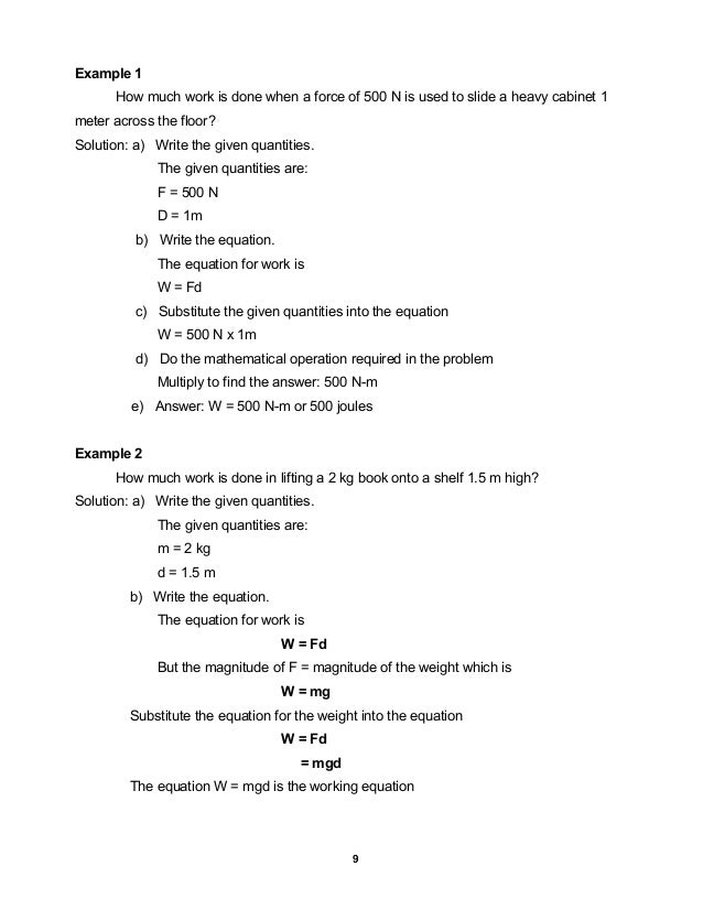 Work And Energy Worksheet Free Worksheets Library – Work and Power Worksheet