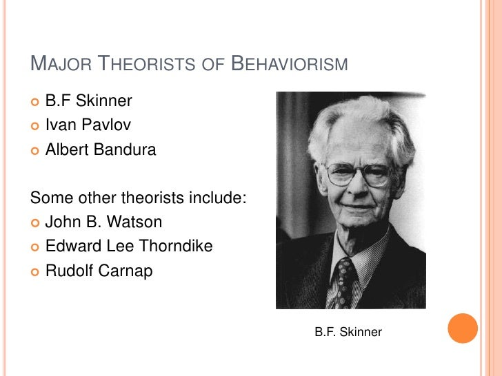 an analysis of skinners behaviorism Operant conditioning can be described as a process that attempts to modify behavior through the use of positive and negative skinner's study of behavior in rats was conducted under carefully controlled laboratory an experimental analysis new york: appleton-century skinner, b.