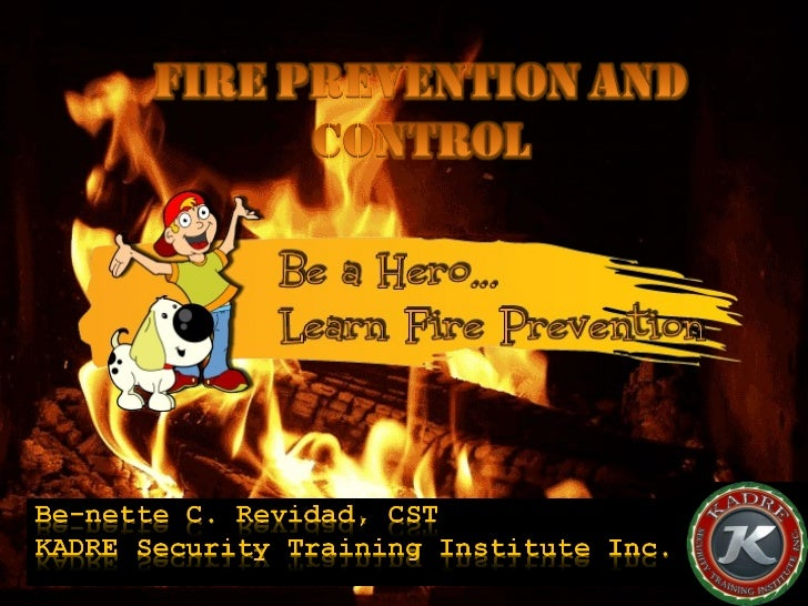 Module 14 fire prevention and control