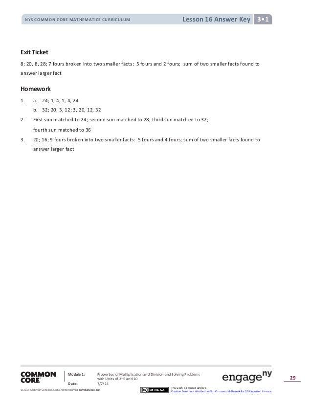 Module 1 Answer Key