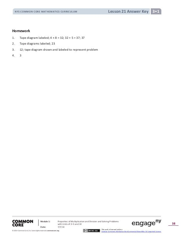 Module 1 answer key