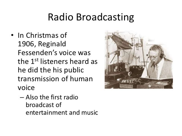 history of radio broadcasting essay Radio broadcasting was pioneered in india by the madras presidency club esay on the brief history of radio broadcasting in india essays, letters.