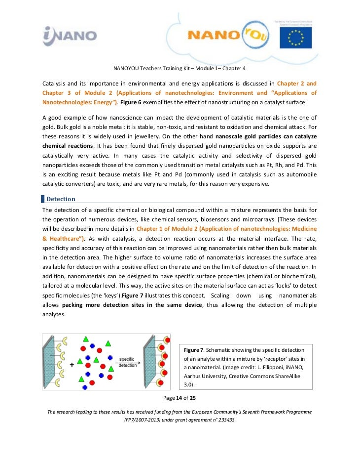 nanoscience the surface effects of nanoparticles essay To date, the effects of nanoparticles on woody plants remain unaddressed the attachment of nanoparticles on the root surface was observed by scanning electron.