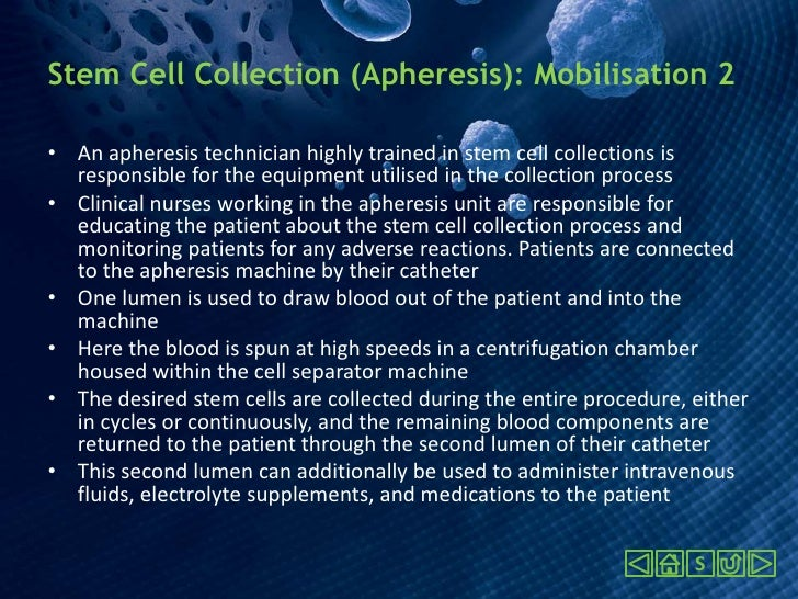 Haematopoietic Stem Cell Mobilisation and Apheresis