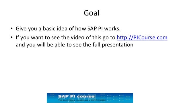 Getting started with SAP PI/PO an overview presentation Slide 2