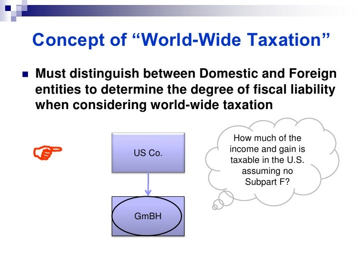 introduction to tax residence The taxation of aliens by the united states is significantly affected by the  residency status of such aliens although the immigration laws of the.