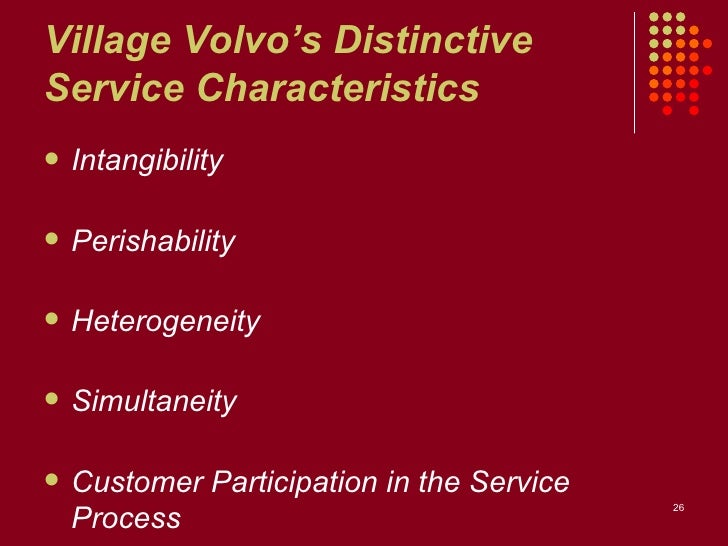 1 describe village volvo s service package 1 describe village volvo's service package supporting facility: the first aspect of village volvo's service package is their supporting facility they are based .