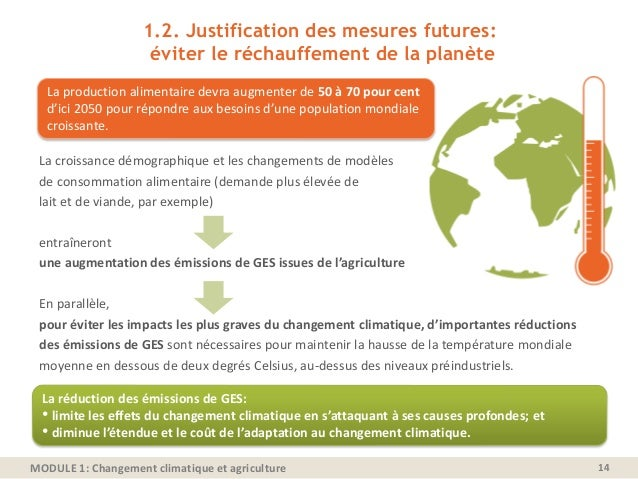 changement climatique et agriculture pdf