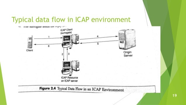Typical data flow in ICAP environment 19