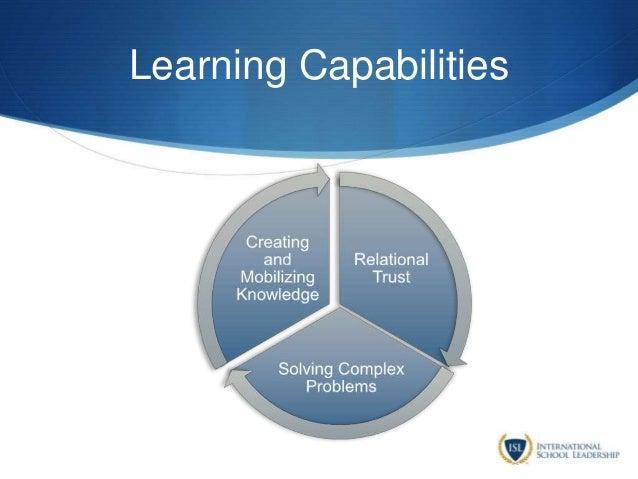 Learning Capabilities