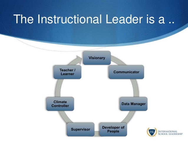 The Instructional Leader is a ..