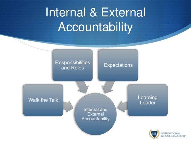 Internal & External Accountability