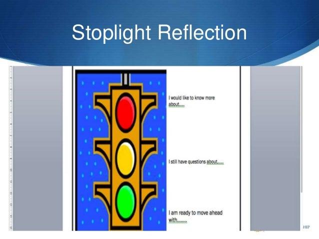 Stoplight Reflection