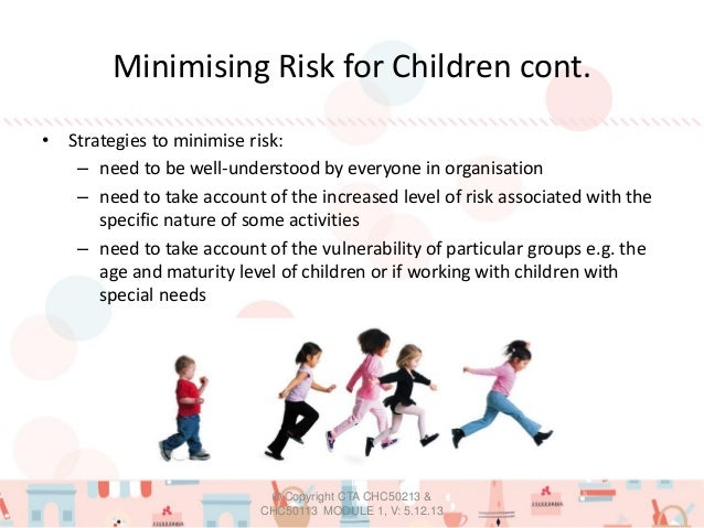 minimising risks of harm to children's Givit child and youth risk management strategy  procedures to  minimise harm to children and young people givit kids works to minimise harm .