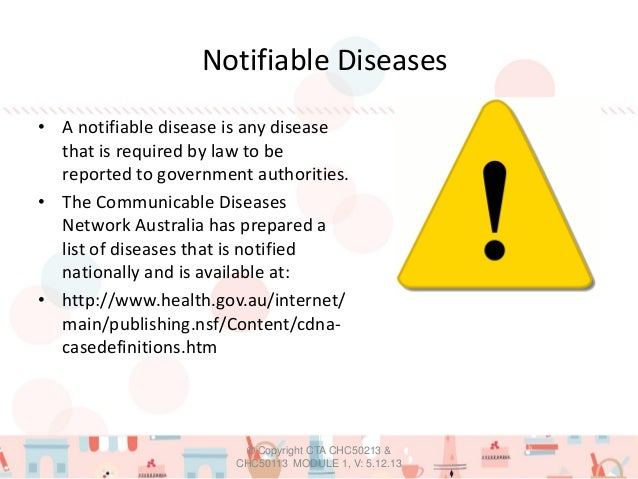 communicable diseases network australia infection control guidelines