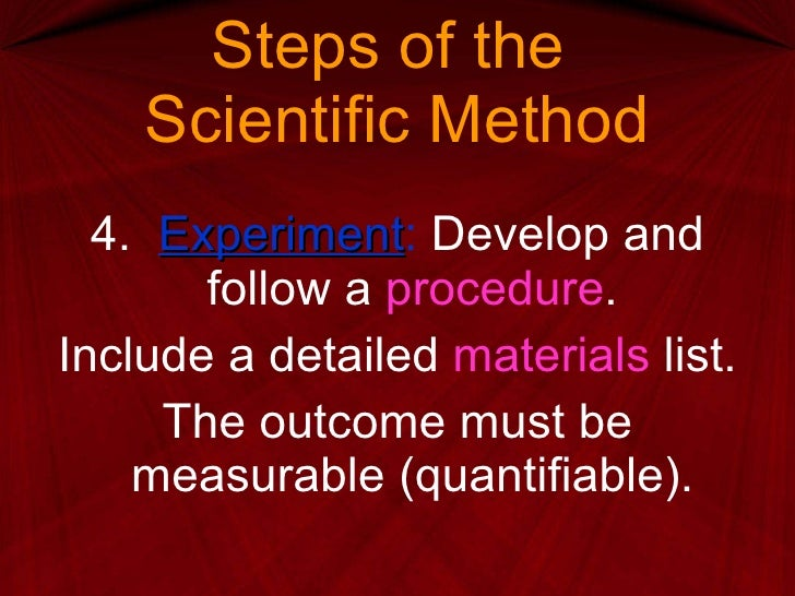 Module 1 Scientific Method Ppt