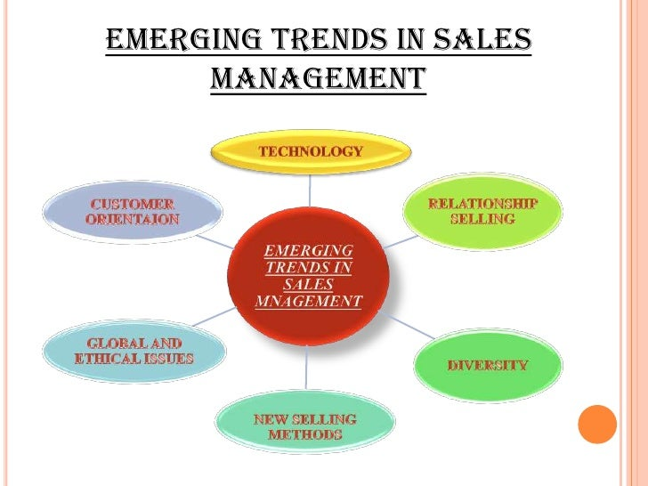 emerging trends in sales management pdf