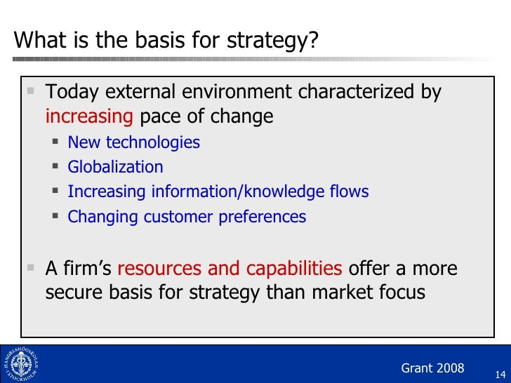 discuss the role of resources and capabilities in strategy formulation Discuss➤the➤significance➤of➤human➤resources➤management➤to➤present➤ and➤future➤  formulating the organization's business strategy ♢ identifying.