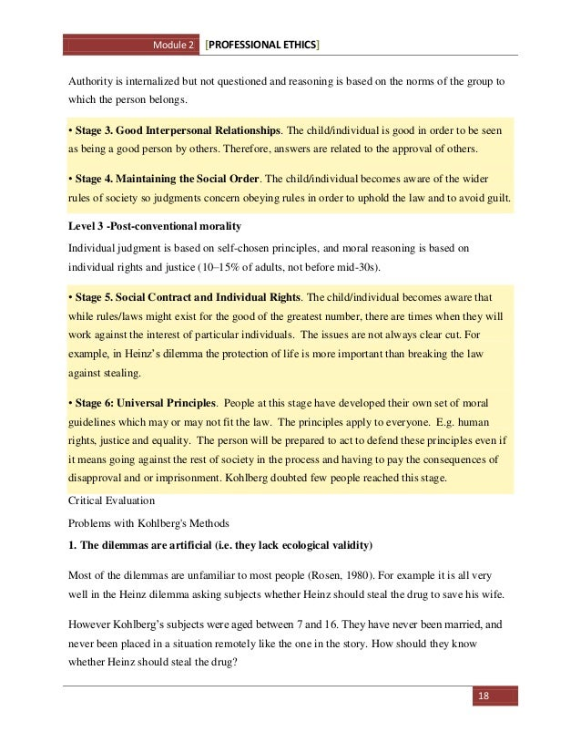 acca professional ethics module sample