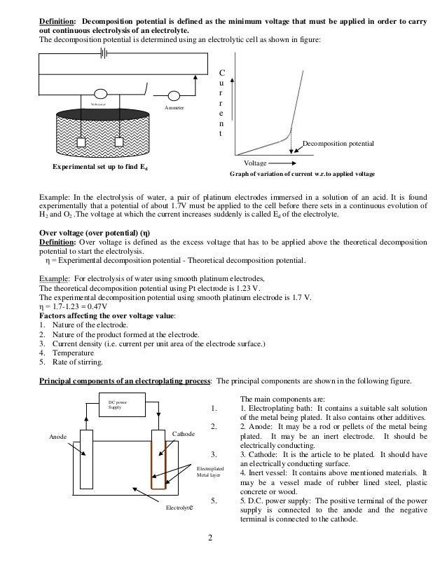 I/II SEM BE, VTU, ENGINEERING CHEMISTRY , Module 2