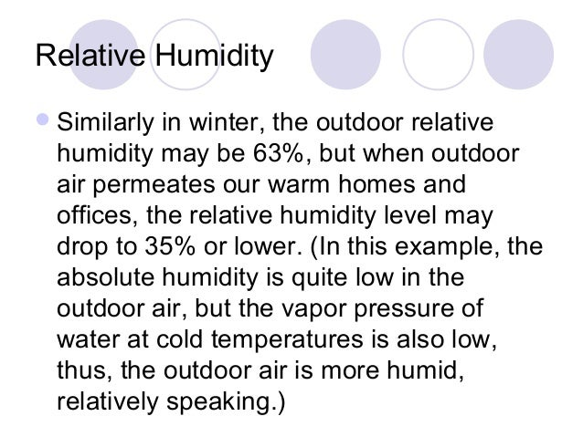 relative humidity essay Annex 1b record of storage cold room number: temperature: relative humidity: recommendations.