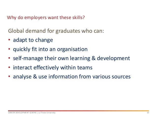 Career Ready, Seminar 2: Developing your skills