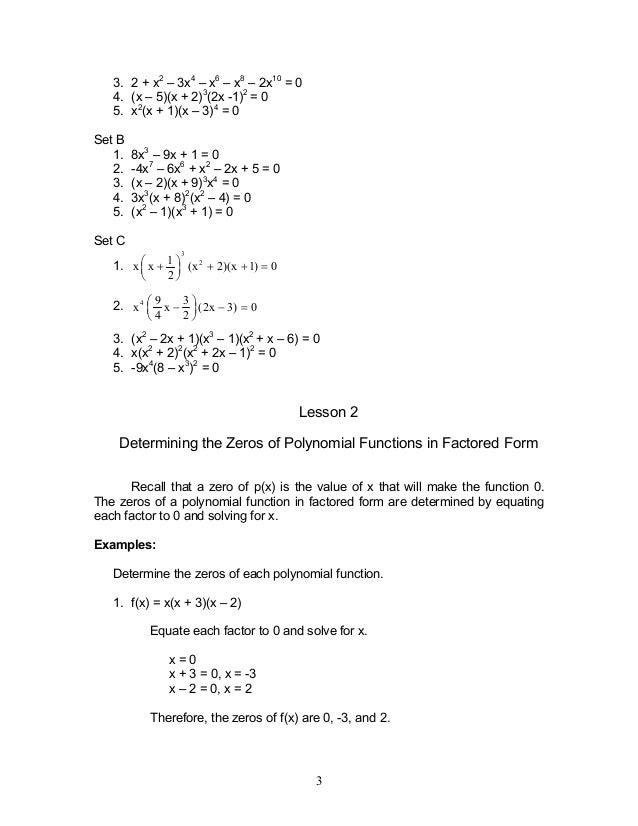 Module 2 polynomial functions 3 ccuart Image collections
