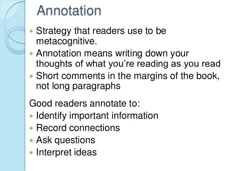 Annotating text a powerful reading tool annotating text ccuart Gallery