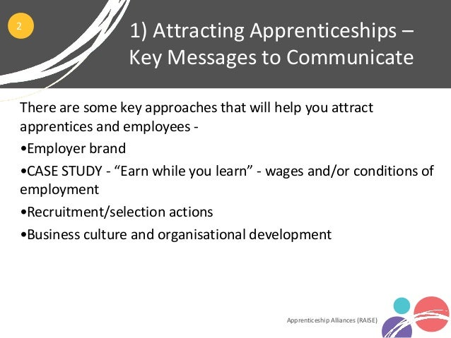 Module 2 - The Nuts and Bolts of Apprenticeships