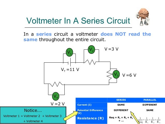 Voltmeter In Parallel : Ast ammeter and voltmeter