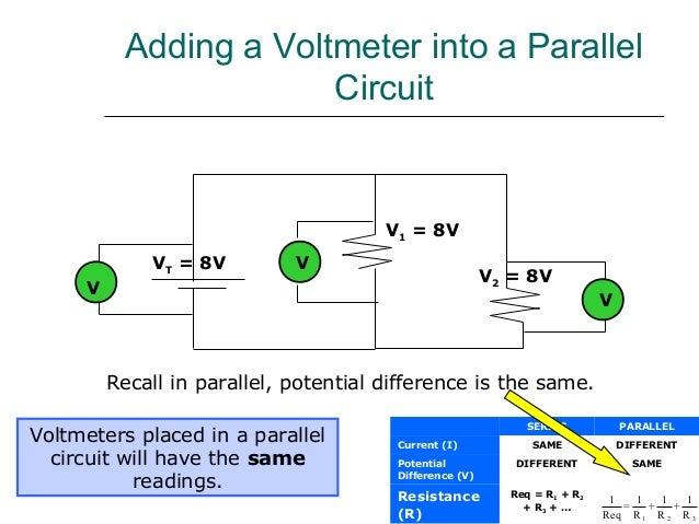 Voltmeter In Parallel : Ast ammeter and voltmeter