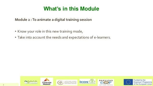 Animate a digital training session  - Training of trainers - LeadFarm Project Slide 3