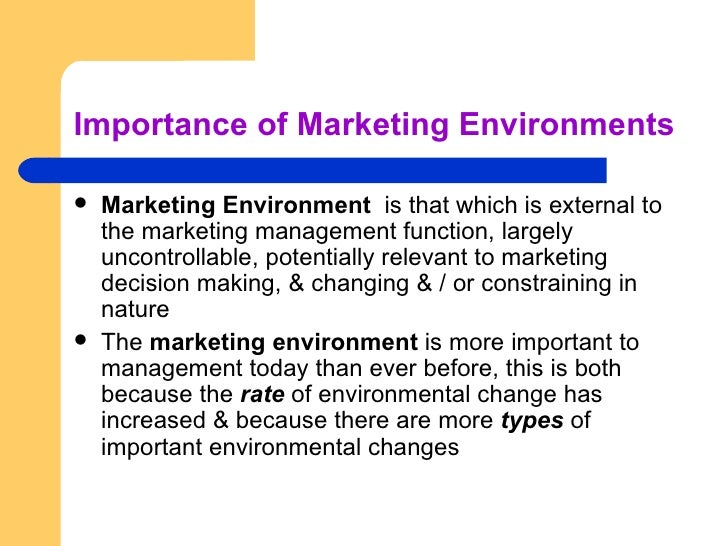 the nature and importance of marketing Marketing channels are important because: simply by knowing the types of marketing channels available, a marketer will know the different ways in which they can market a business to the world they help marketers to prioritize their efforts.