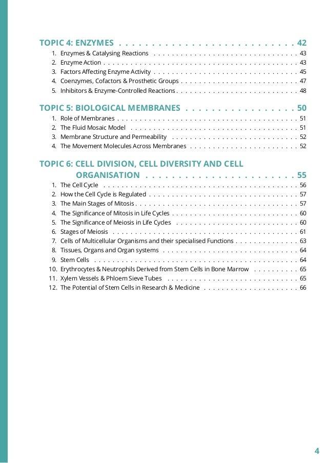 as level biology notes pdf