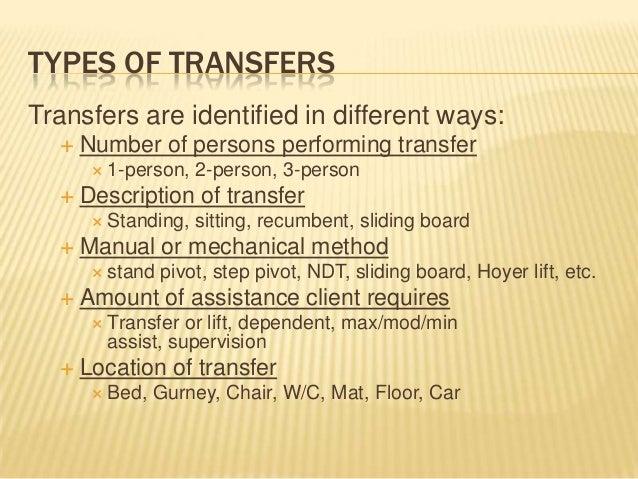 Module 2 Patient Transfers