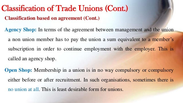 Trade unions 11 platinumwayz