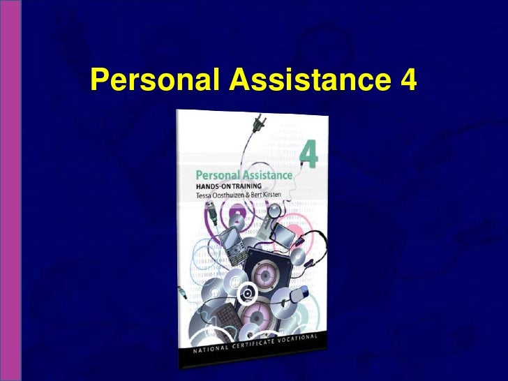 Personal Assistance 4<br />