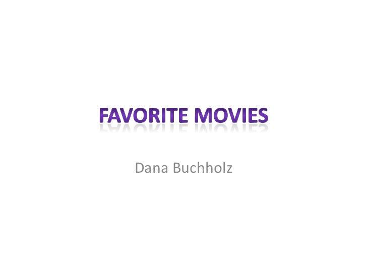Dana Buchholz