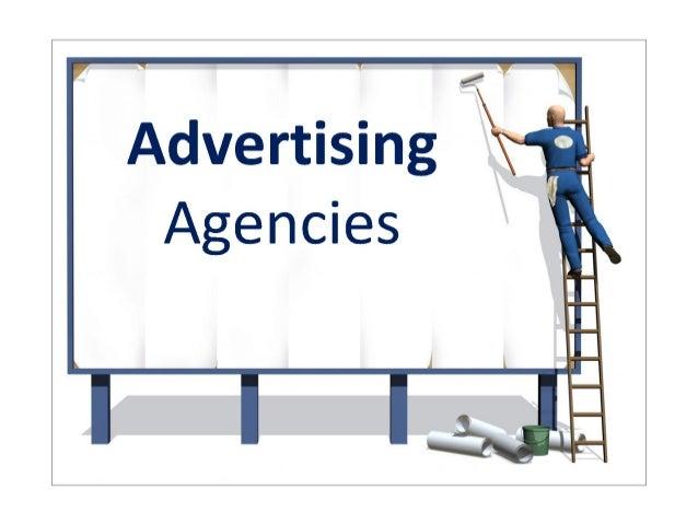 .1  Advertising Agencies  . -4L':          I :11? J