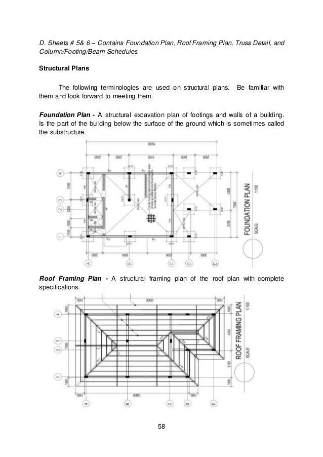 structural framing plan symbols module 3 module 1 architecural layout details
